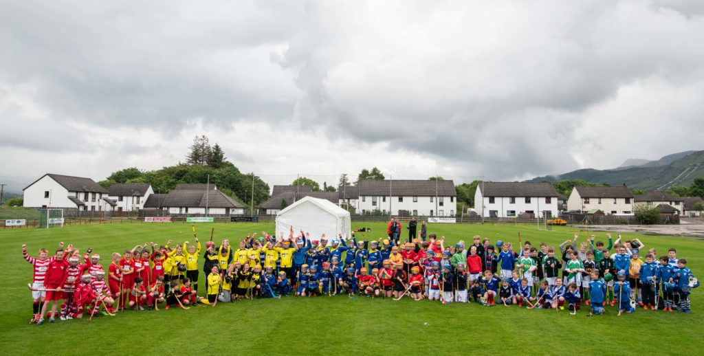 Primary shinty stars light up Fraser MacPhee Tournament