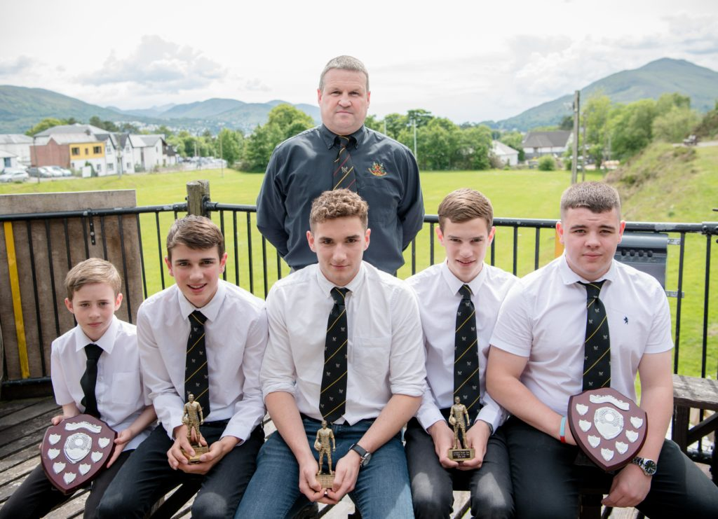 Club presents trophies to mini and youth stars