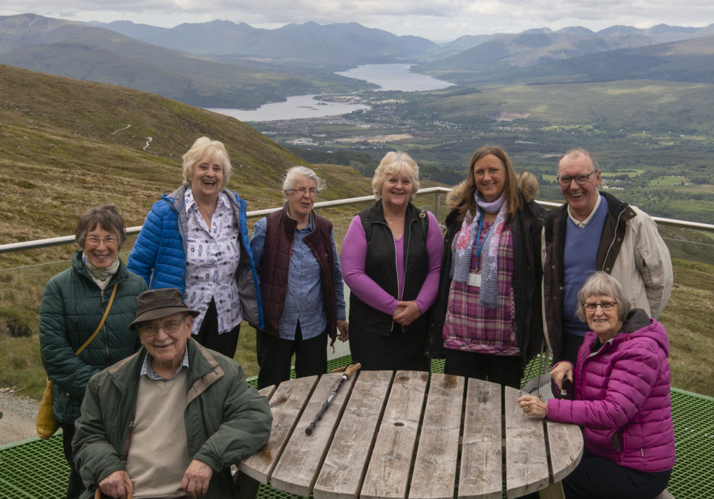 Carers wanted cake and got to eat it at Nevis Range