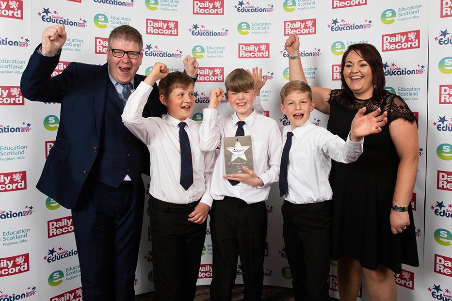 Bun-Sgoil Ghàidhlig Loch Abar win big at Scottish Education Awards