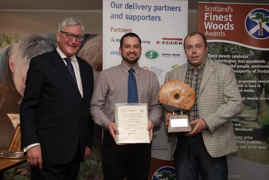 Lochaber estates business wins RHS woodland award