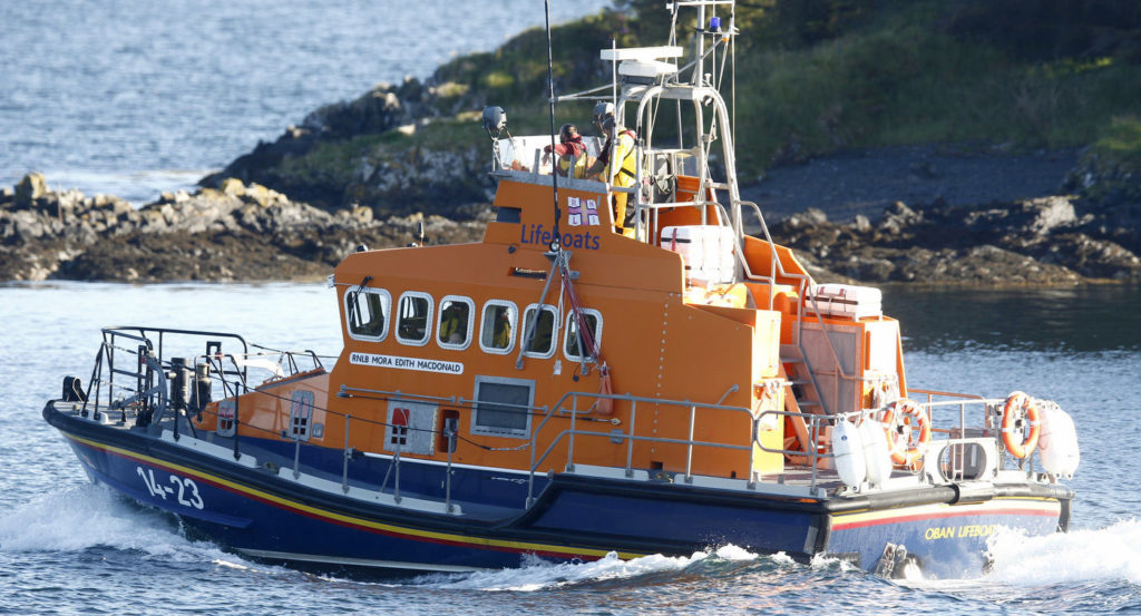 Three call-outs in 24 hours for Oban lifeboat