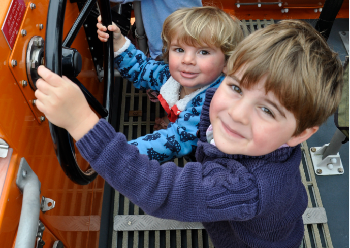 RNLI open day welcomes visitors onboard