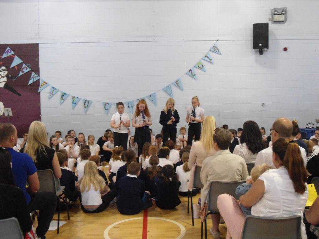Rockfield children celebrate summer