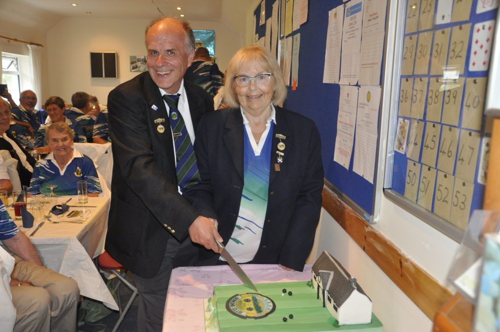 Oban Bowling Club president's positive message