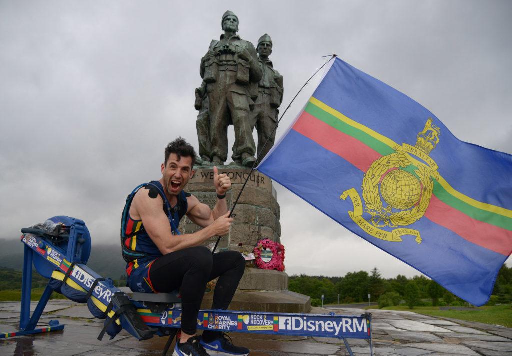 Former Marine Matt makes it to Commando Memorial