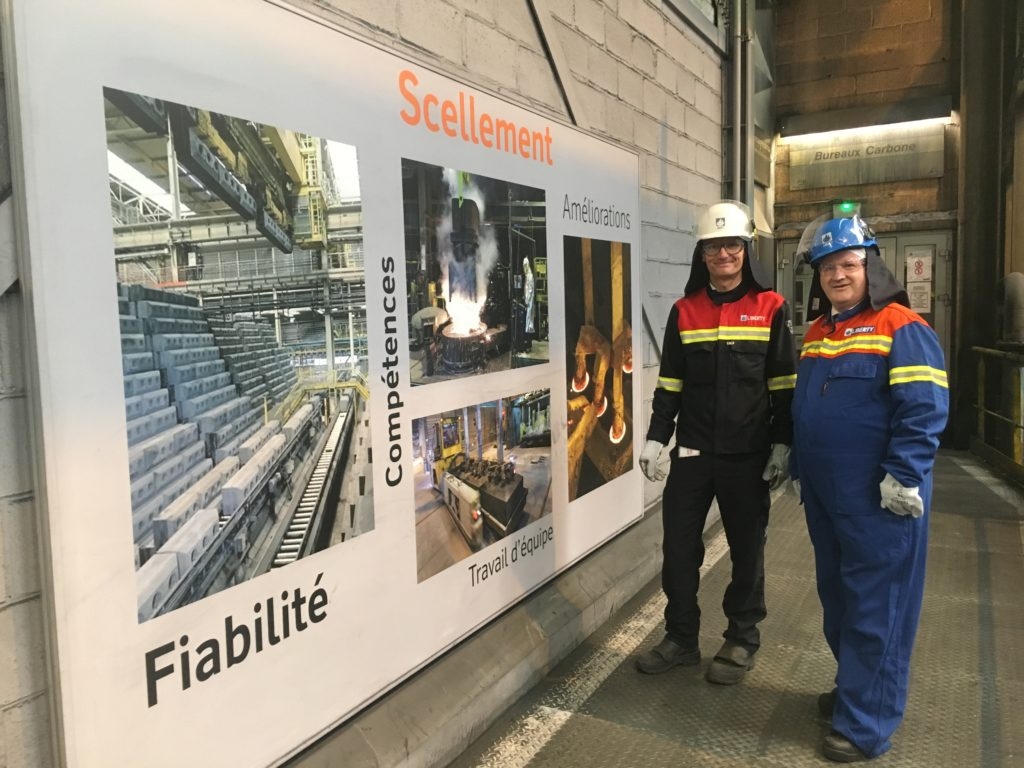 Lochaber MP visits Liberty's French smelter