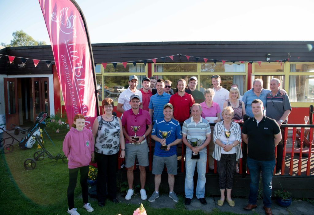 McFall golf day raises more than £4,000 for charity