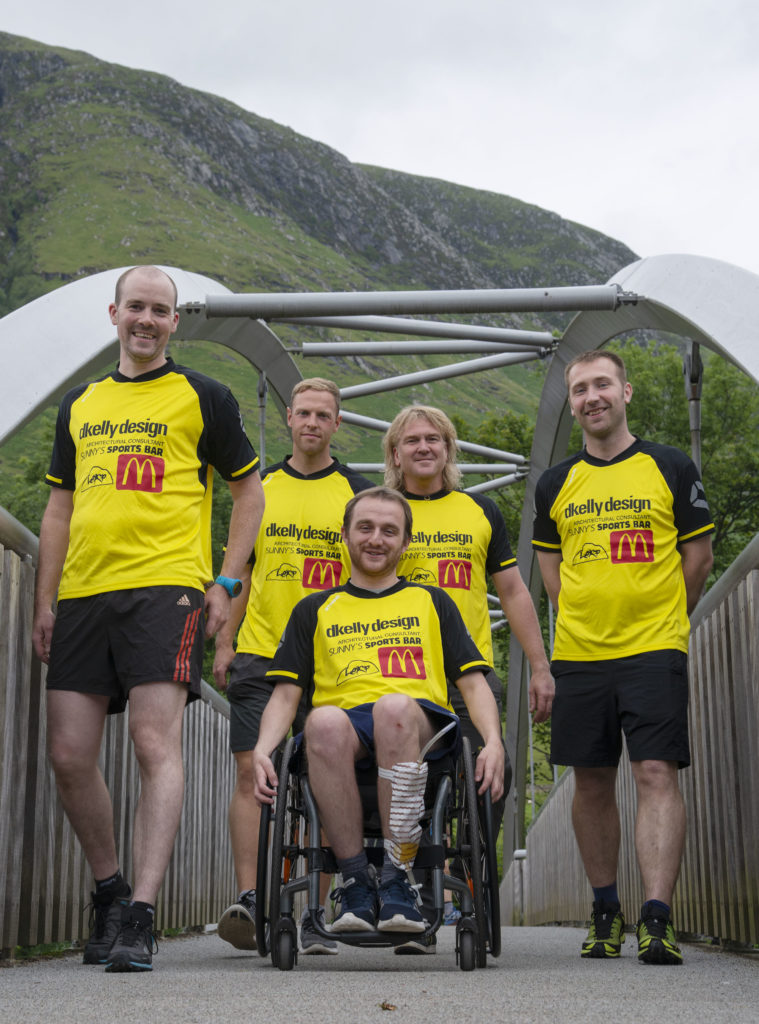 Friends take on Three Peaks for James Tangney