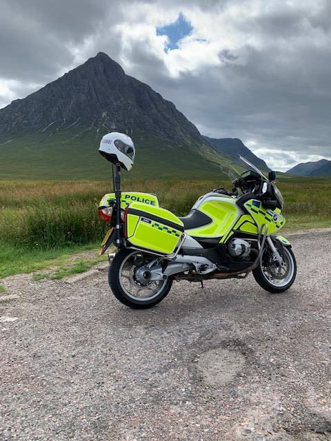 Police target A82 motorcyclists