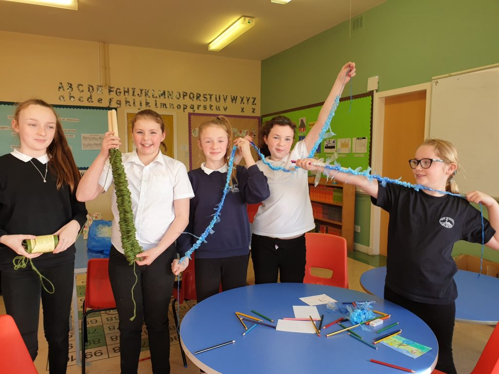 Uist and Maltese youngsters link up for special art project