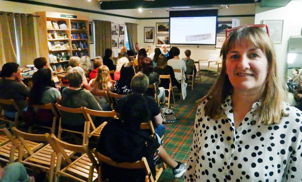 Lochaber Women's Aid event raises £185