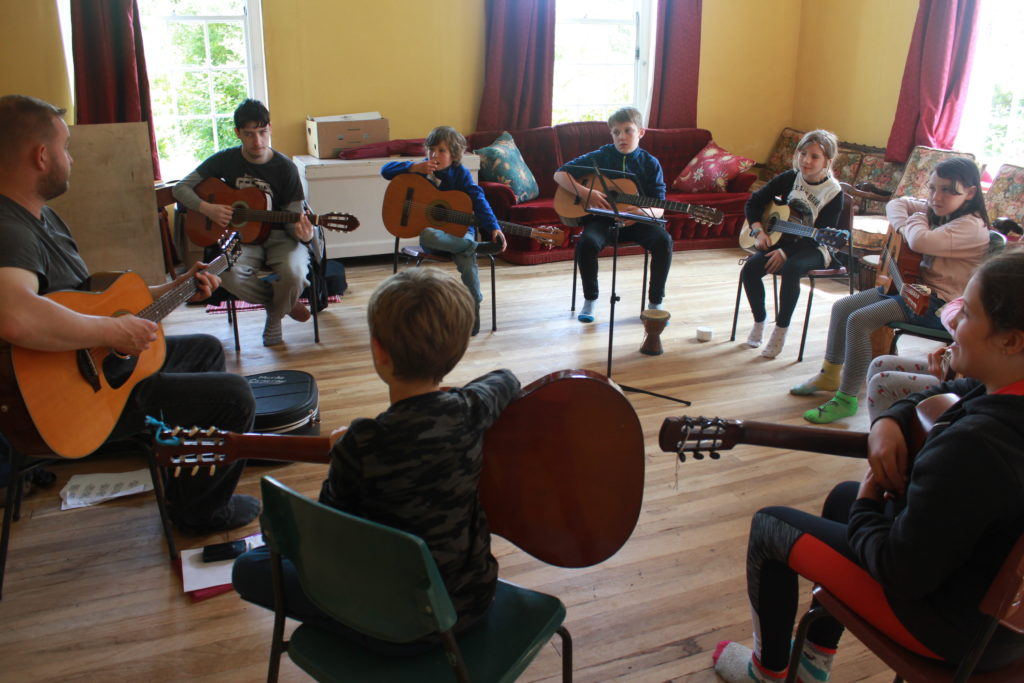 Fèis Eige draws children from across the West
