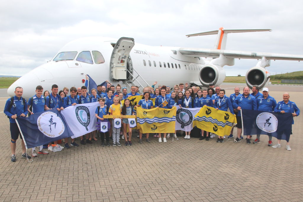 Western Isles return on high with medal haul from international games