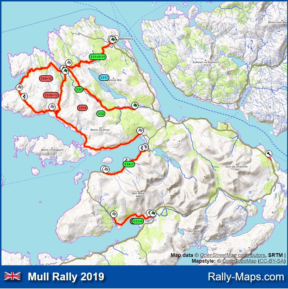 Mull Rally entries crash the internet