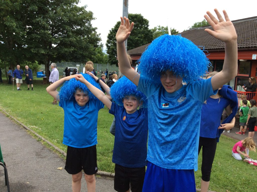 Fun and games at Lochnell Primary School sports day
