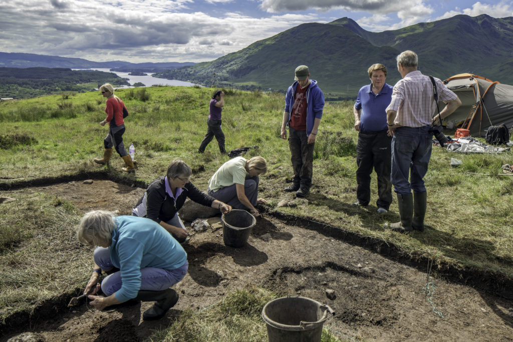 Dig this! Dalmally time team looks for volunteers