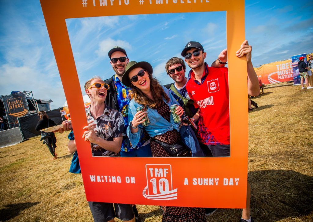 Scorching tunes at Tiree Music Festival