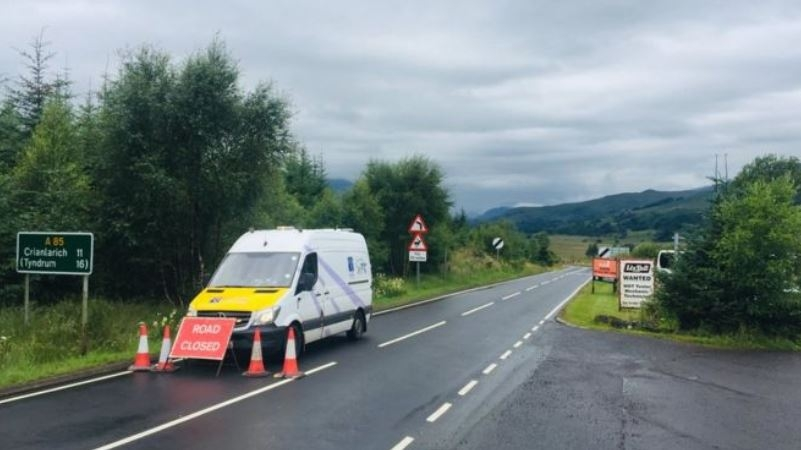 Appeal after fatal road collision on the A85 near Crianlarich