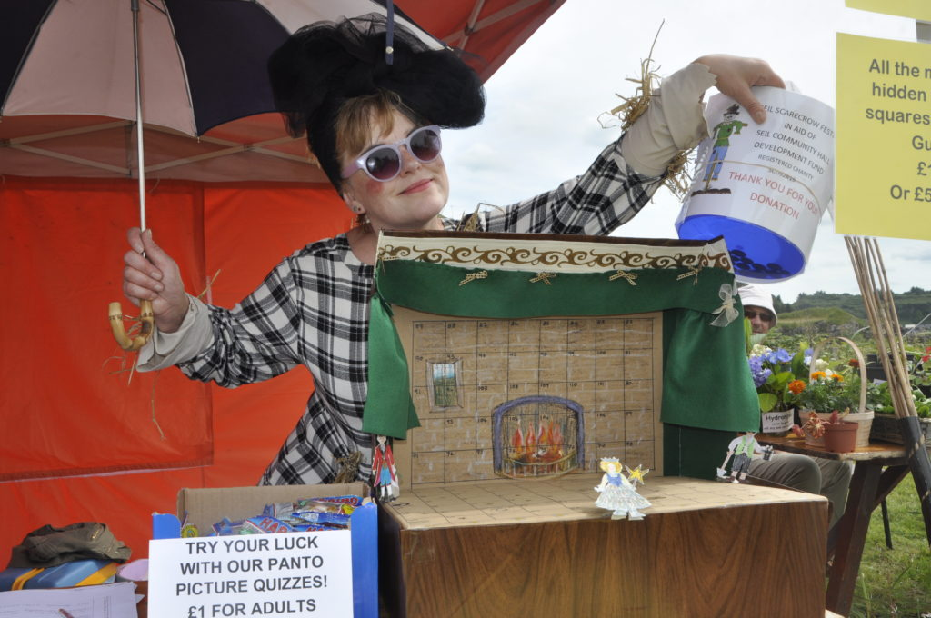 Stone the crows! Scarecrow Festival raises thousands for Seil hall