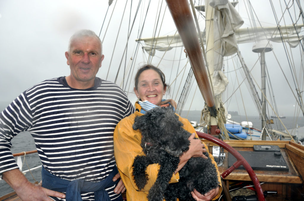 Tall ship duo wish Kerrera hub venture a bon voyage