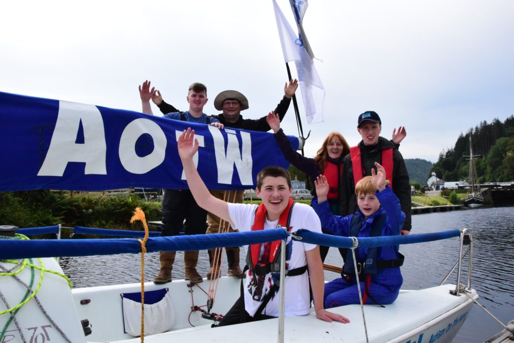 Sailing with autism – and loving it