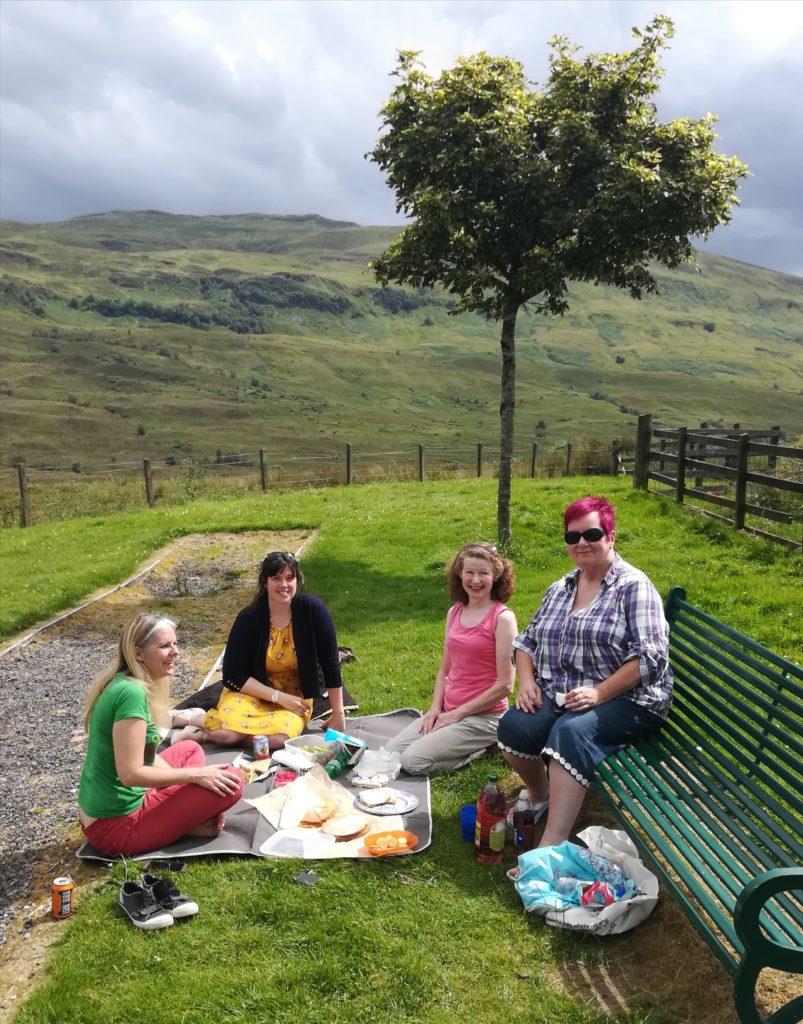 Lochaber support group holds 'pot luck picnic'