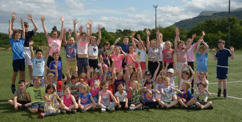 Youngsters enjoy sunny summer playscheme