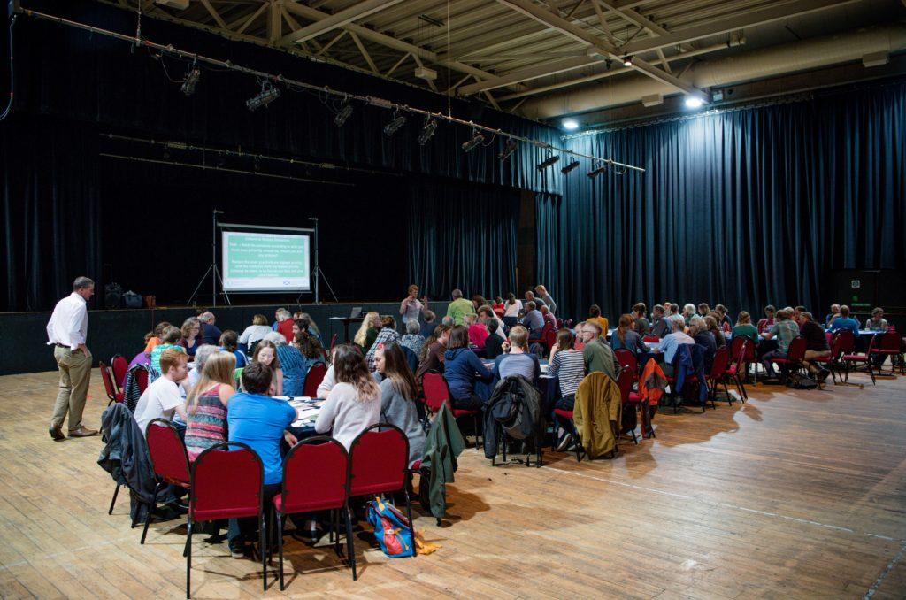 Nevis Centre hosts Fort climate 'conversation'