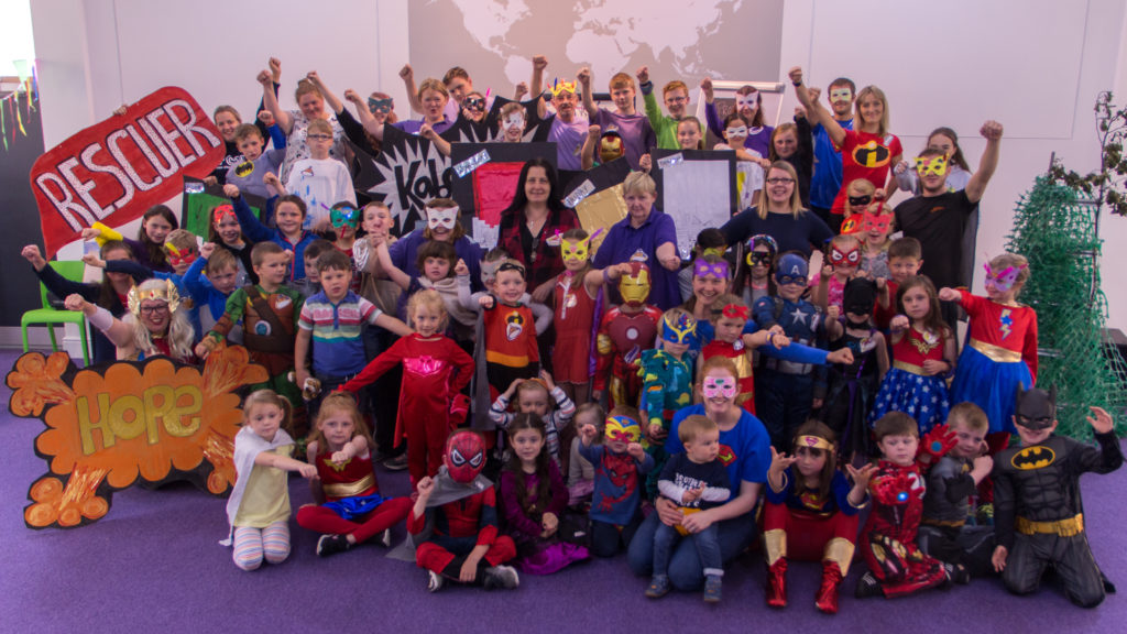 A 'Super Hero' week for the kids in Caol