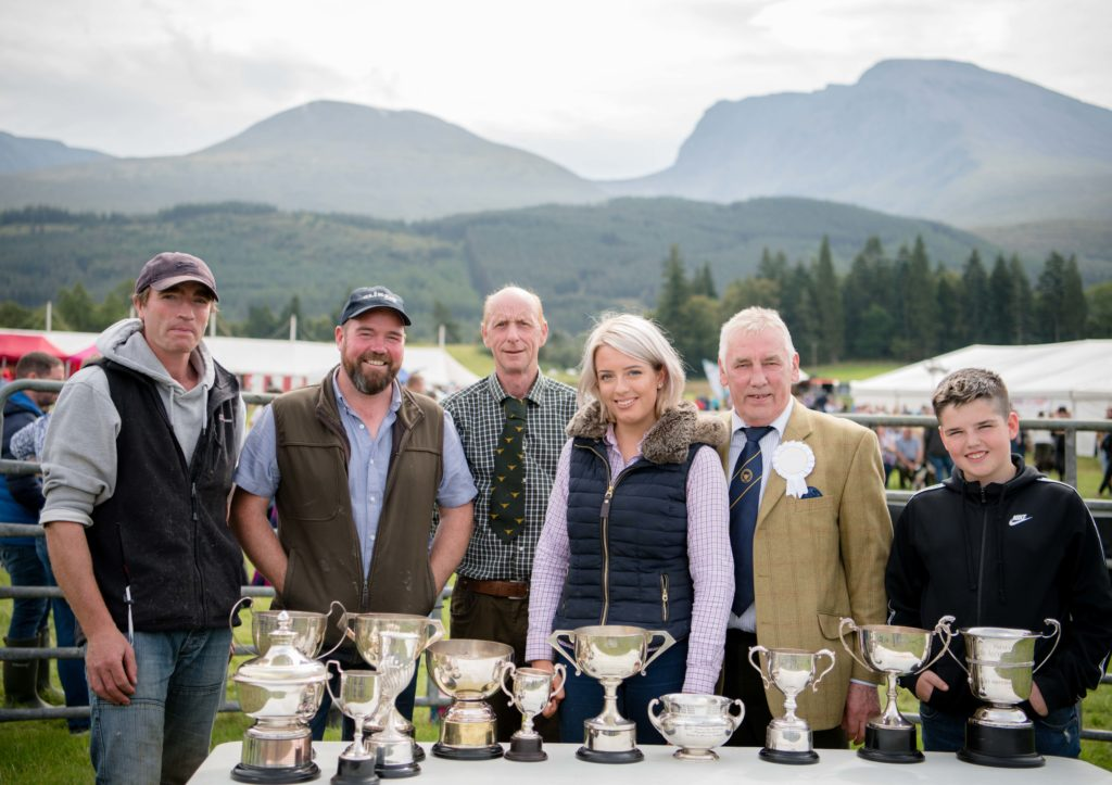 Clouds part for sunny and busy Lochaber Agricultural Show