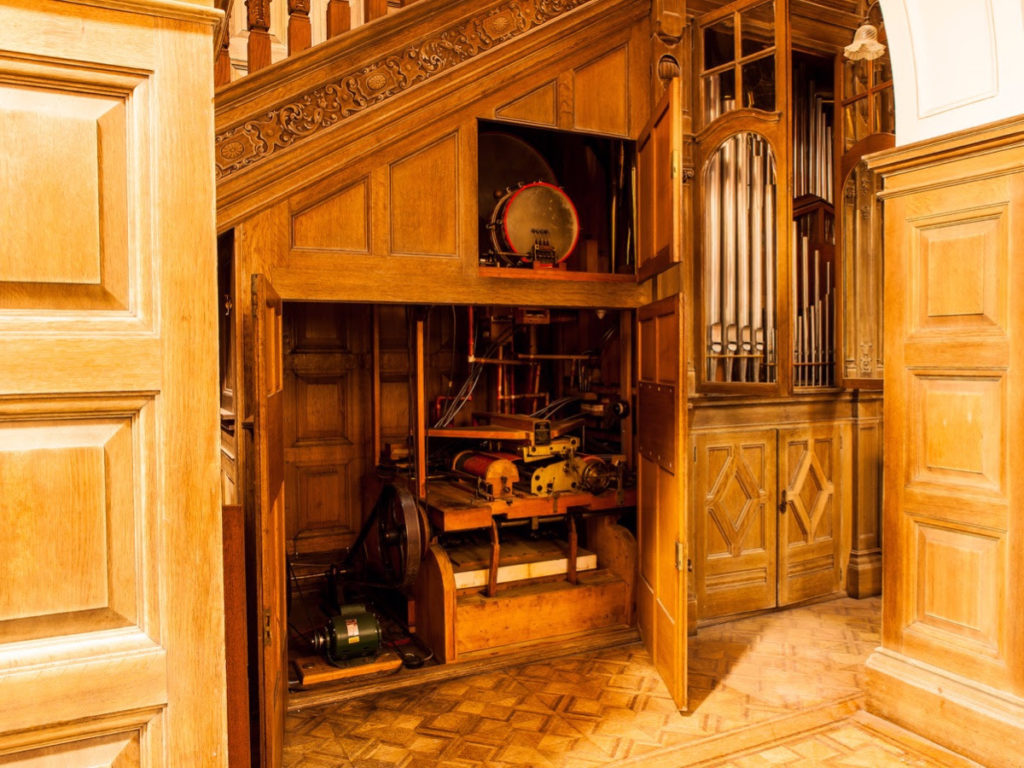 Appeal to aid restoration of rare Rum orchestrion