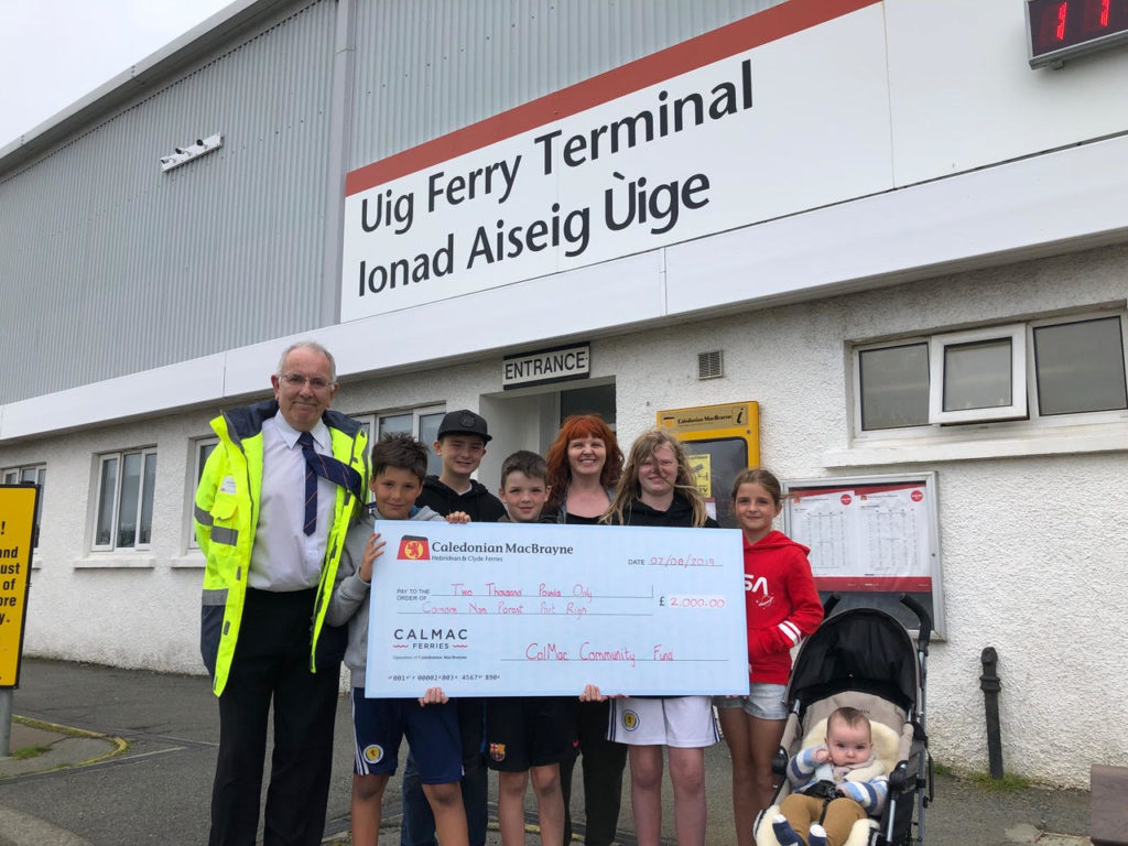 CalMac helps bring new Gaelic Youth Club to Skye