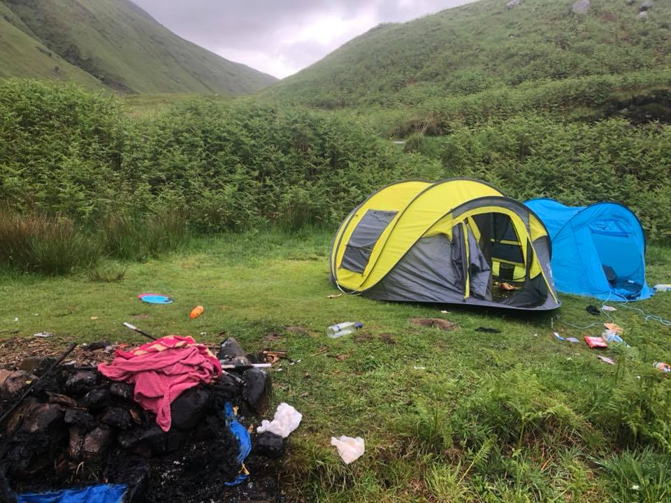Calling time on dirty camping in Highlands
