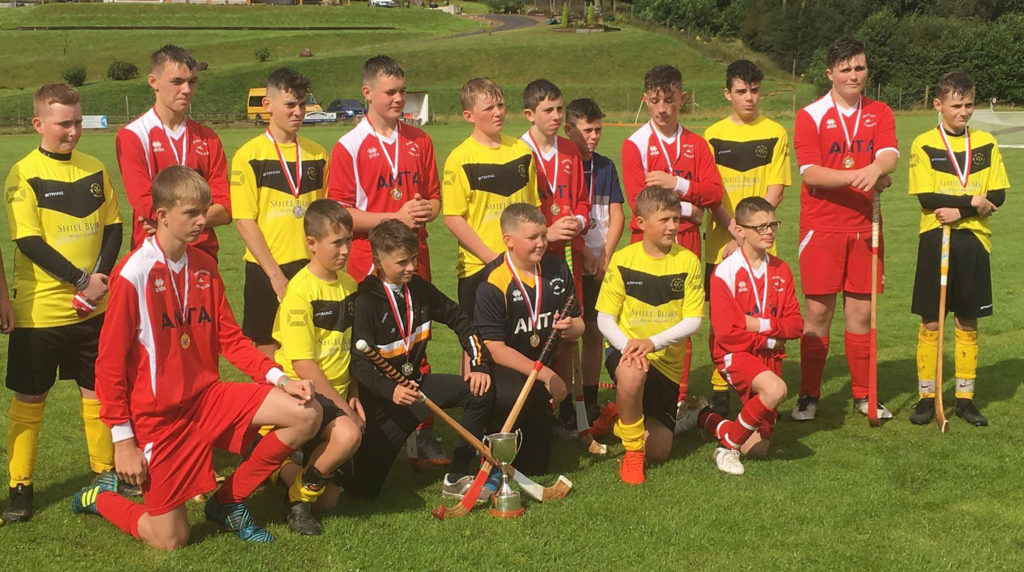 Kinlochshiel pip Fort William to Donnie MacLean Sixes shinty title