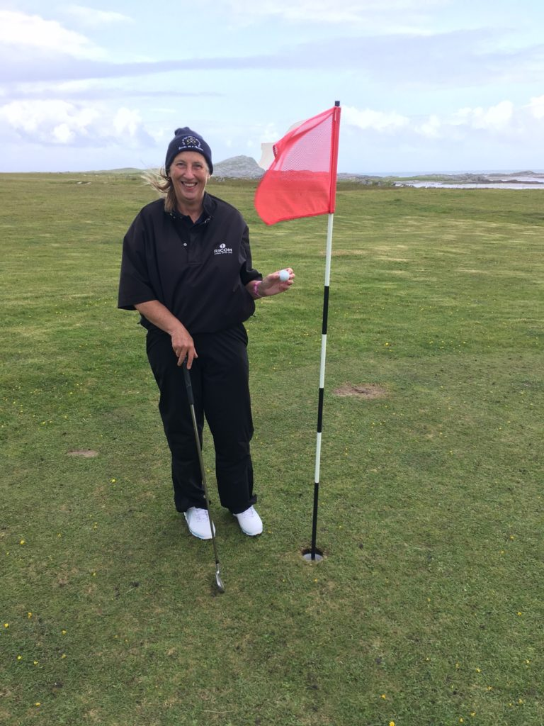 First Colonsay hole in one for 20 years