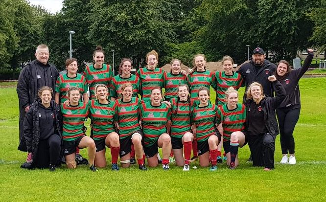 Great win for the ladies despite numerical disadvantage