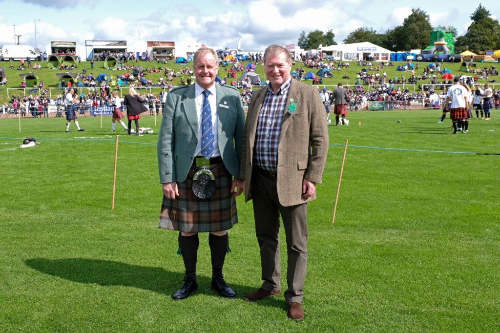 SSC celebrates six years of support for Cowal Games