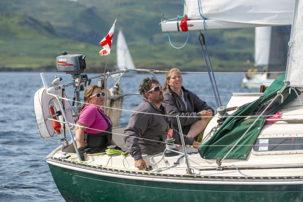 Testing conditions for West Highland Yachting Week