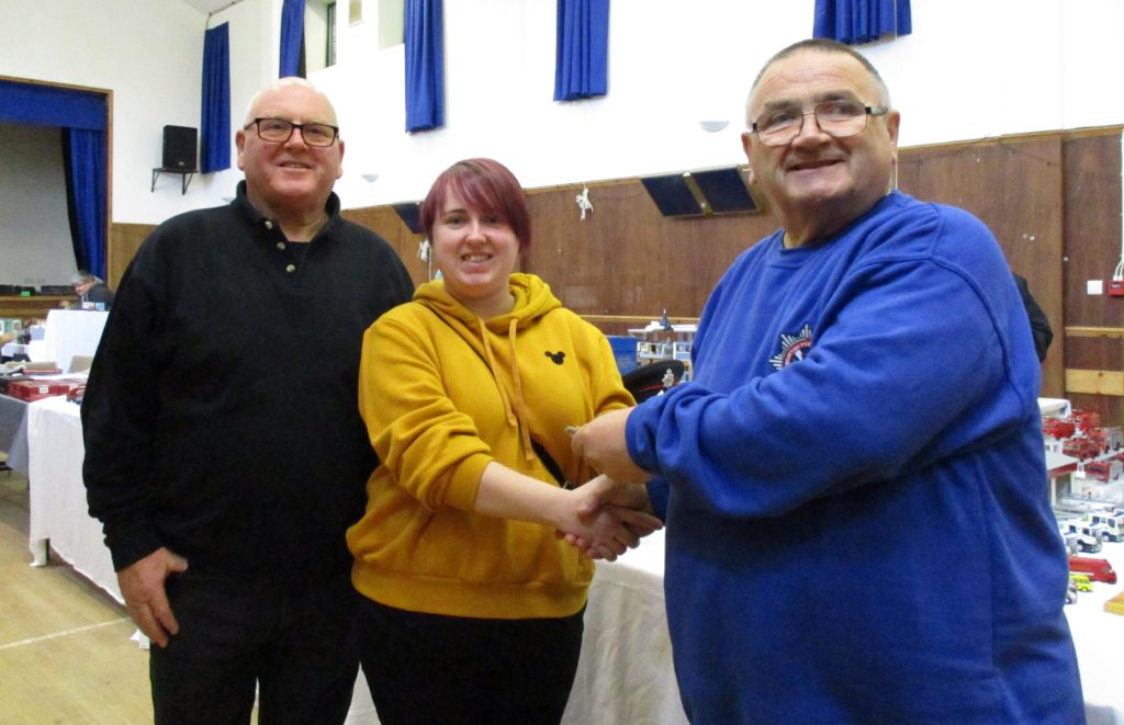 Islay birthday gift boosts diecast show donations