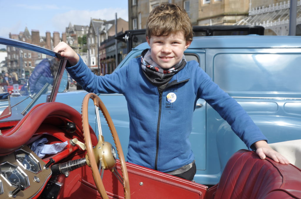 Motorfest got Oban in gear for good day out