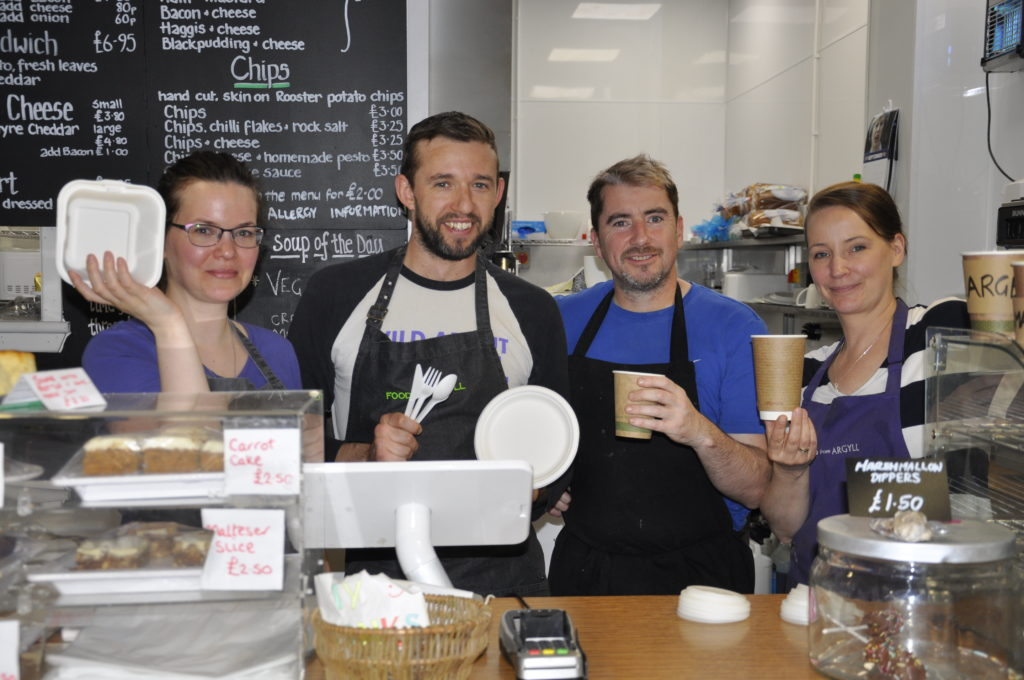 Compostable packaging company to uplift from Oban