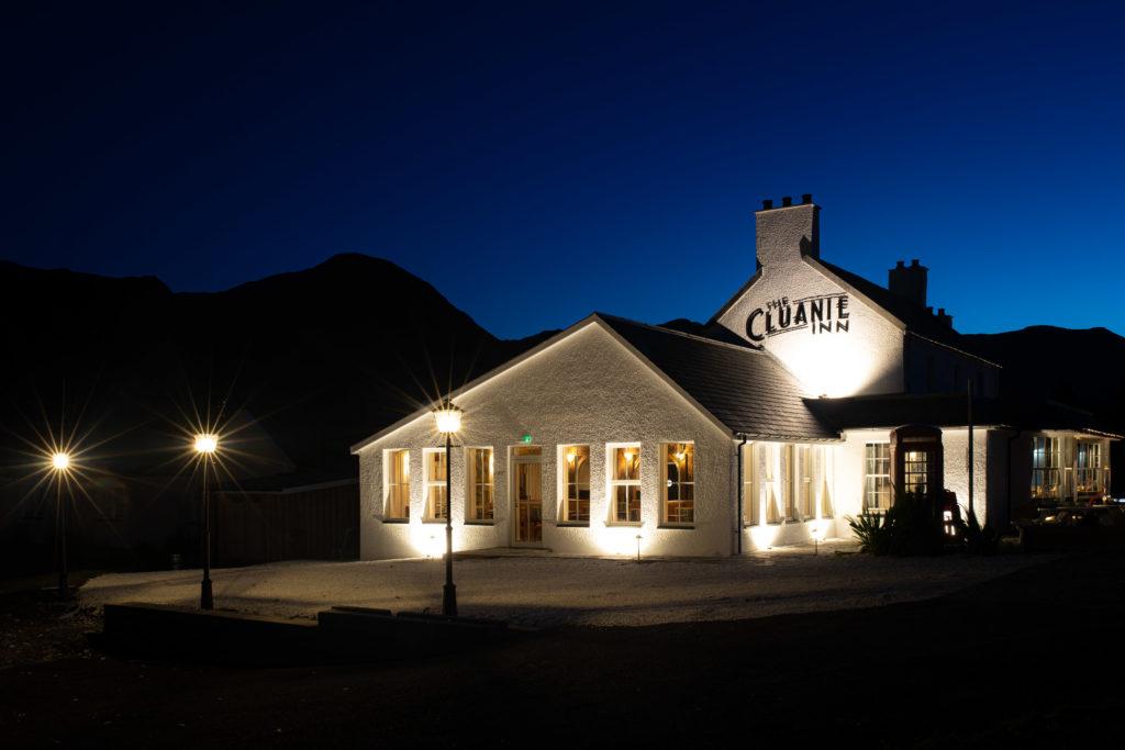 Cluanie Inn reopens its doors after extensive refurbishment