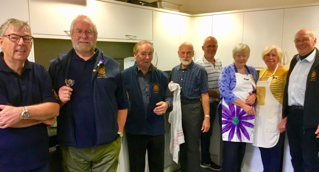 Lochaber Rotary's pop-up cafe raises over £400 for charities