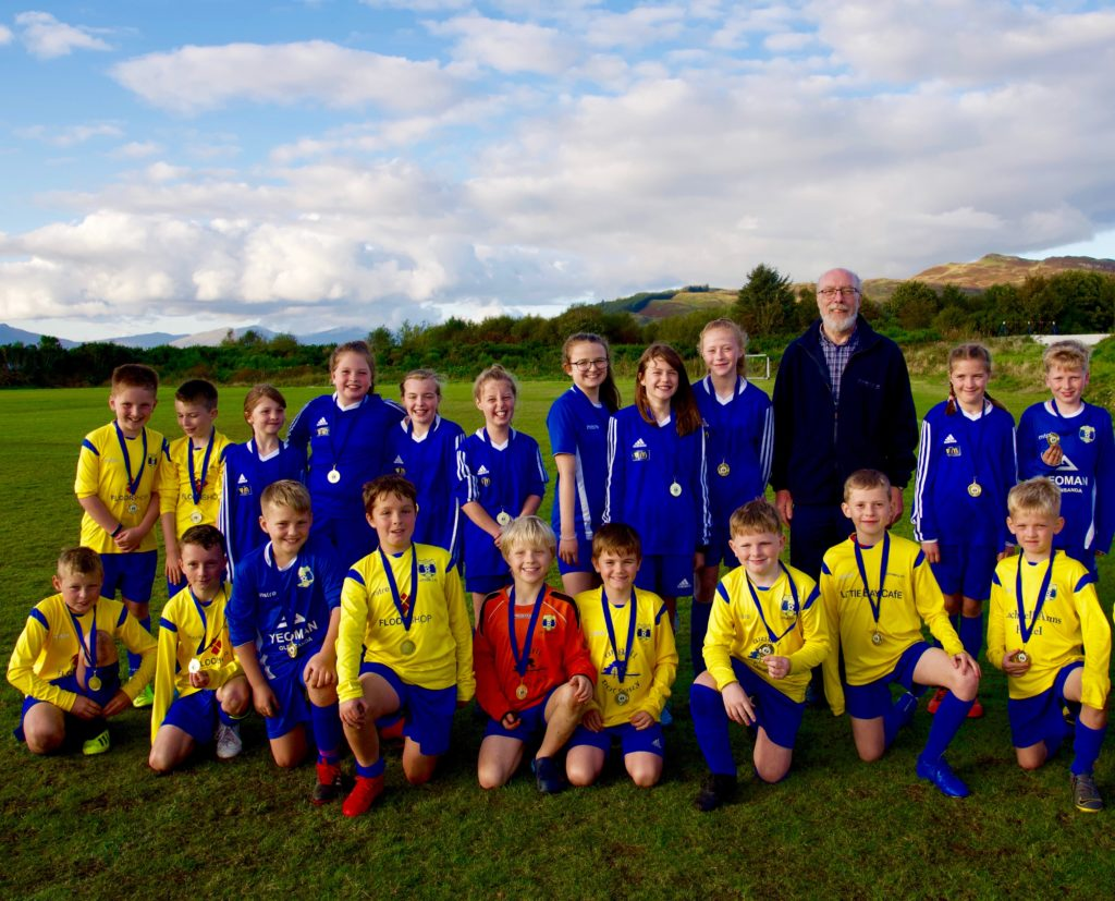 Sporting youngsters set example at Lochnell Football Festival