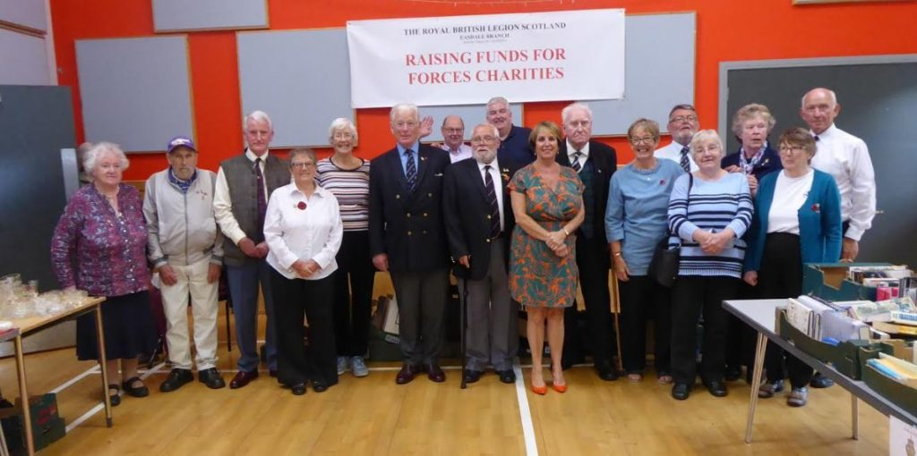 Forces and veterans charities get sale boost
