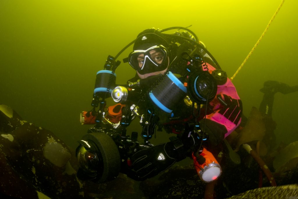 Rolex scholar dives for science in Oban