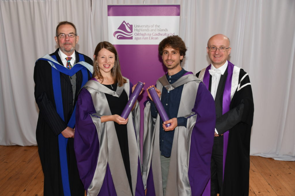 Marine scientist's graduation marks university milestone
