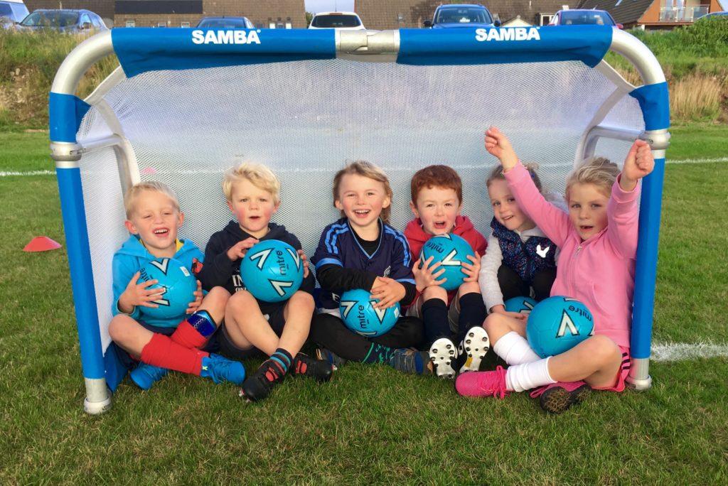 Football club nets new players