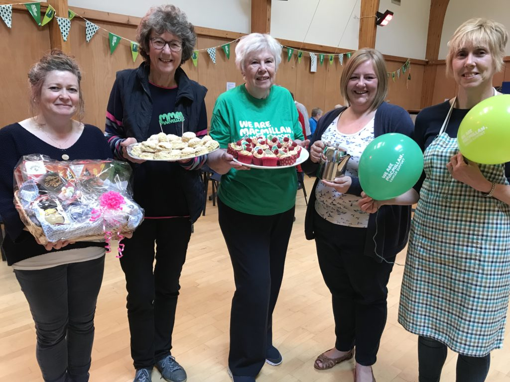 Fundraising on a plate for Macmillan
